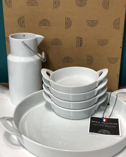 New Pillivuyt porcelain has arrived in store! These pieces are known worldwide for their exceptional quality and gorgeous finish and have been specially made in France for over 200 years! Visit us in store to shop the beautiful Toulouse Tart Mould, Toulouse creme Brûlée dishes and Montmartre 1900 Pitcher! 🇫🇷❤️#beautifuleragifts #beautifuleragiftscottesloe #madeinfrance #porcelaincollection #cottesloe #cottesloevillage #pillivuyt #toulouse #bakeware #baking #newarrivals #shopnow